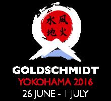Goldschmidt 2016 in Japan!
